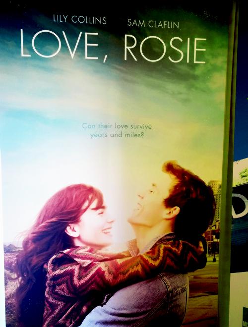 """Premier aperçu de l'affiche du film """"Love, Rosie"""""""